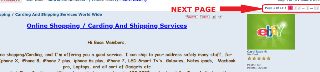 Online Shopping / Carding And Shipping Services World Wide