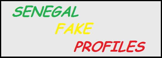 Senegal Fake Profiles 1850