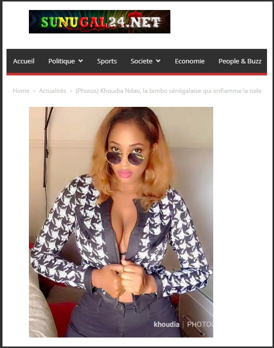 Scammer With Photos Of Khoudia Ndao 1n110