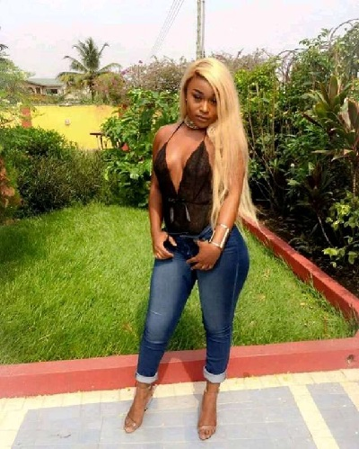 Scammer With Photos Of Efia Odo 1n16