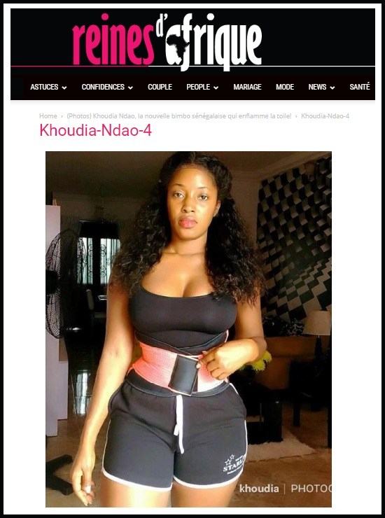 Scammer With Photos Of Khoudia Ndao 1o91