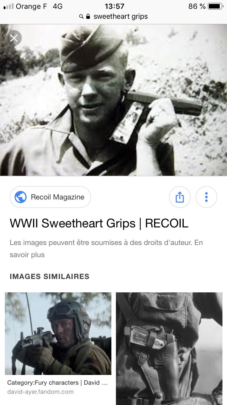 plaques de crosse transparentes sur un Colt M1911A1 ? 0c328f10