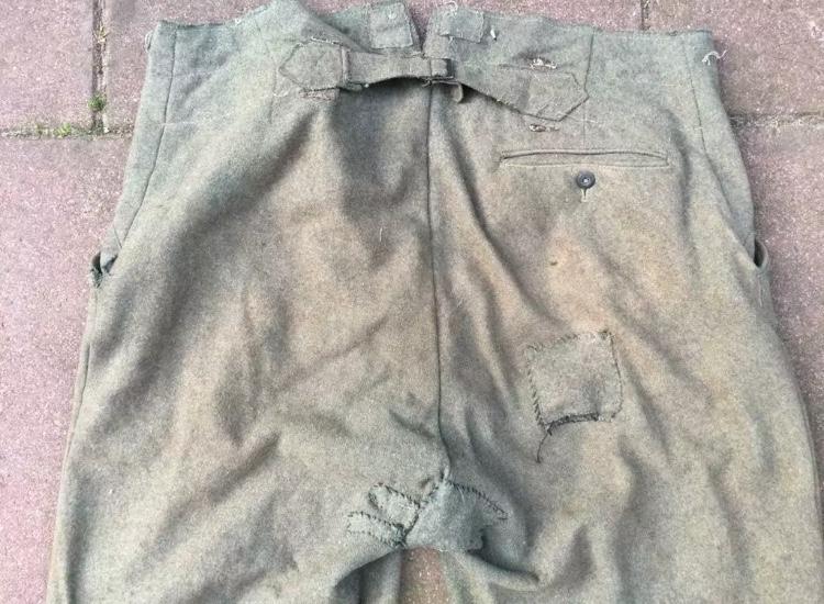 Pantalon troupe allemand Ae186110