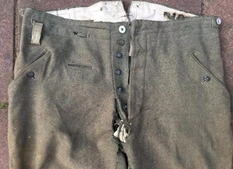 Pantalon troupe allemand Babb6810