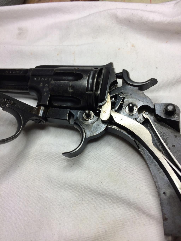 Revolver réglementaire Suisse 1882 Ordonn19