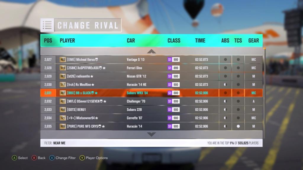 FH3 Time Attack | City Tour Sprint - 400HP (FWD/RWD/AWD) 1b4e4910