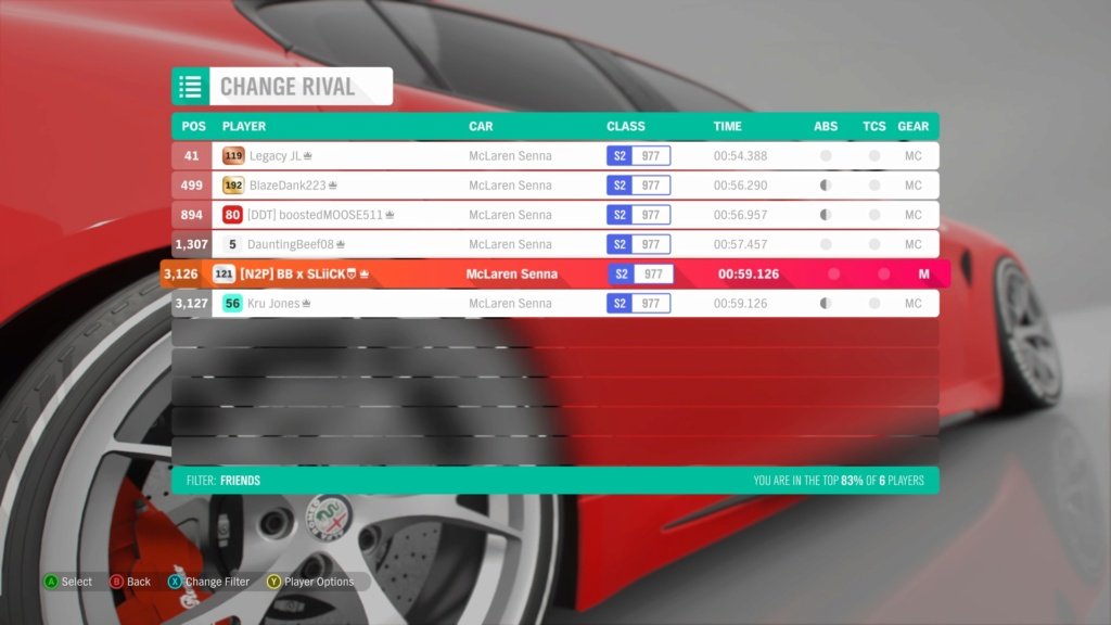 *RESULTS UP* FH4 Time Attack | Monthly Rivals - McLaren Senna Ae4b3510