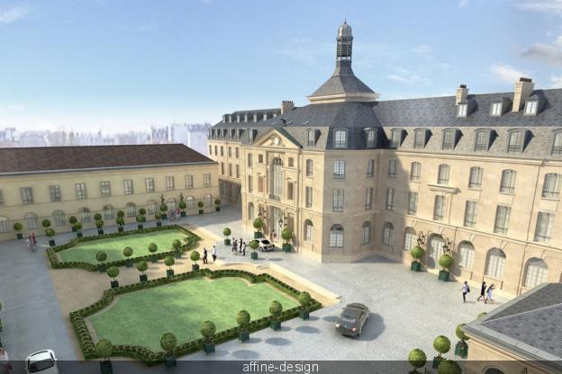 L'Abbaye de Penthemont et l'Hôtel du Génie 42083410