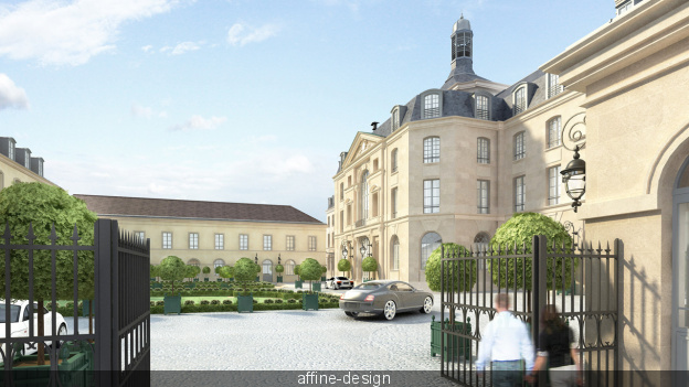 L'Abbaye de Penthemont et l'Hôtel du Génie 42083710
