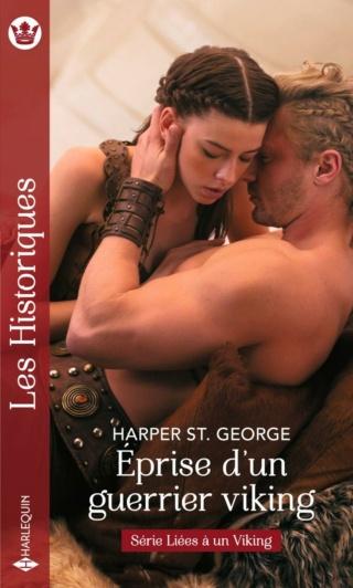 Liées à un Viking - Tome 2 : Éprise d'un guerrier viking de Harper St George. 97822868