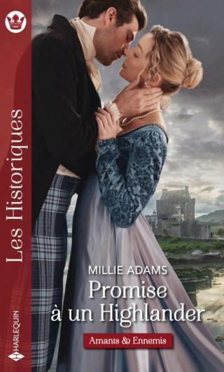 Amants et ennemis - Tome 1 : Promise à un Highlander de Millie Adams 97822889