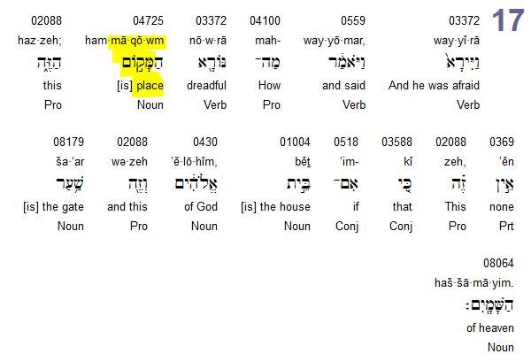 Qu'est ce que c'est la vallée de Bacca dans la Bible? - Page 3 Maqom10