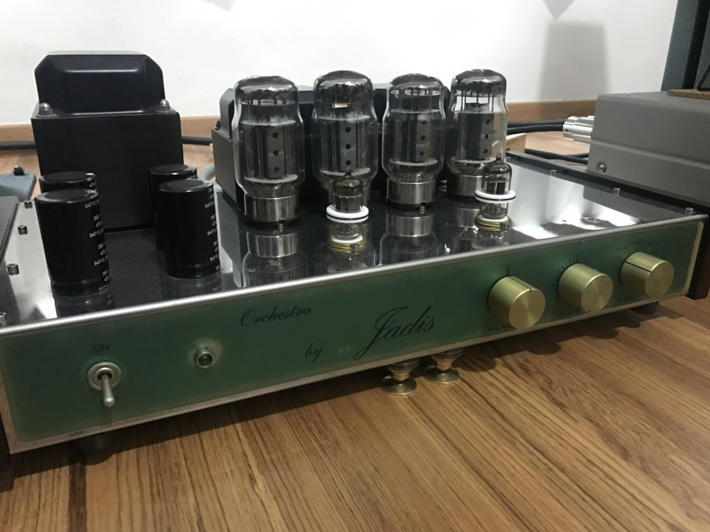 Sold - Jadis Orchestra KT88/6550 integrated amplifier  Img_9512