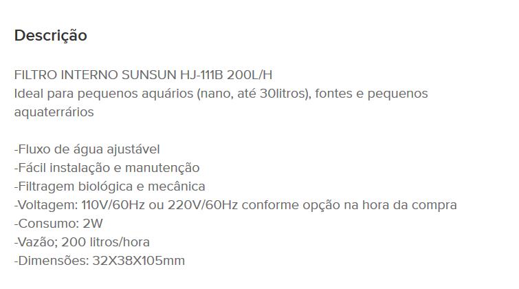 [Resolvido]Alguém sabe como usar corretamente o filtro sunsun pump? Yy11