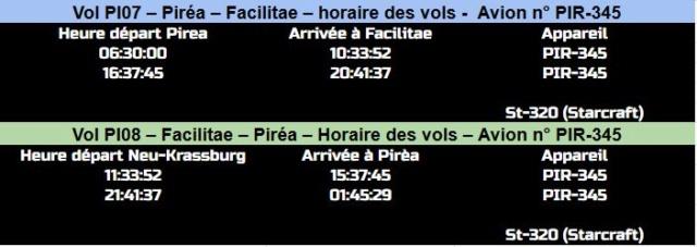 HORAIRES DES VOLS Pirea-13
