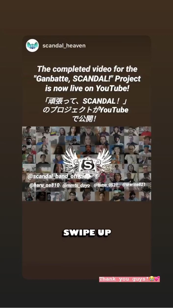 """""""Ganbatte, SCANDAL!"""" Project Captur11"""