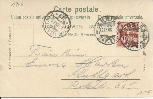 Württemberg - STUTTGART - Briefträgernummernankunftsbestellgangsstempel B1_stu11