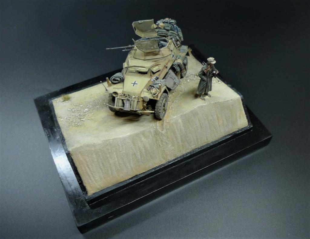 """""""Verloren """" AufklärungsAbteilung 3 – 5. leichte Division- DAK- Libye – juillet 1941 L1090753"""