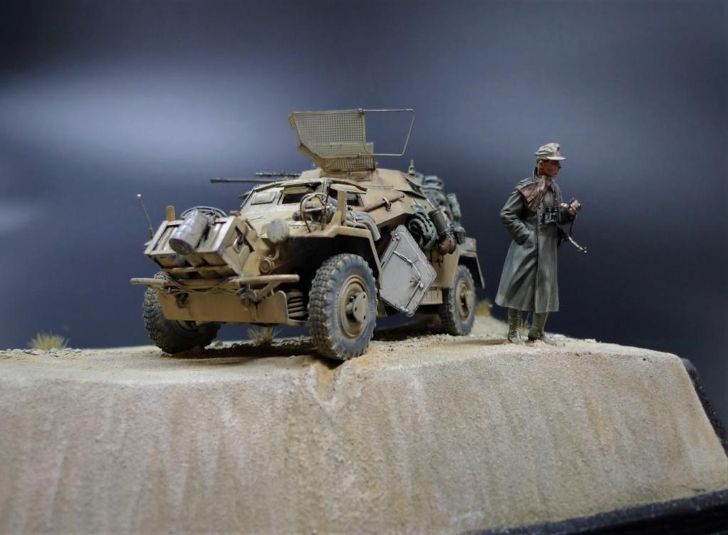 """""""Verloren """" AufklärungsAbteilung 3 – 5. leichte Division- DAK- Libye – juillet 1941 L1090757"""