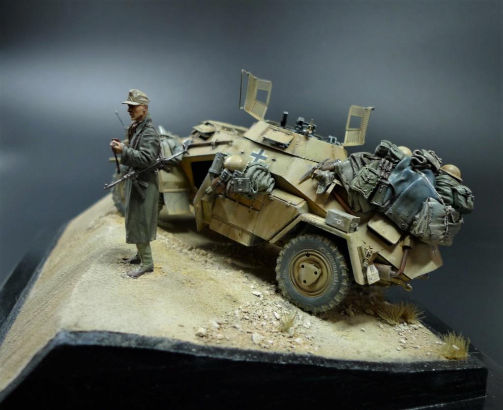 """""""Verloren """" AufklärungsAbteilung 3 – 5. leichte Division- DAK- Libye – juillet 1941 L1090759"""