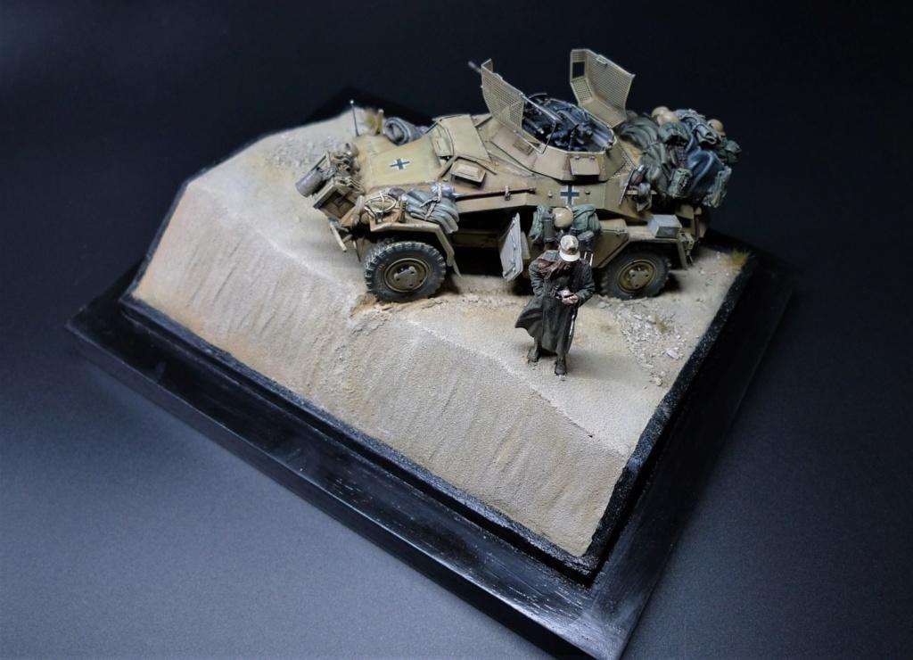 """""""Verloren """" AufklärungsAbteilung 3 – 5. leichte Division- DAK- Libye – juillet 1941 L1090791"""