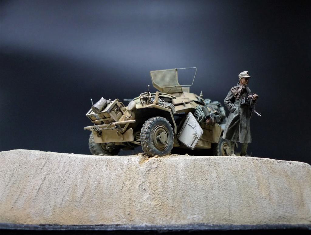 """""""Verloren """" AufklärungsAbteilung 3 – 5. leichte Division- DAK- Libye – juillet 1941 L1090792"""