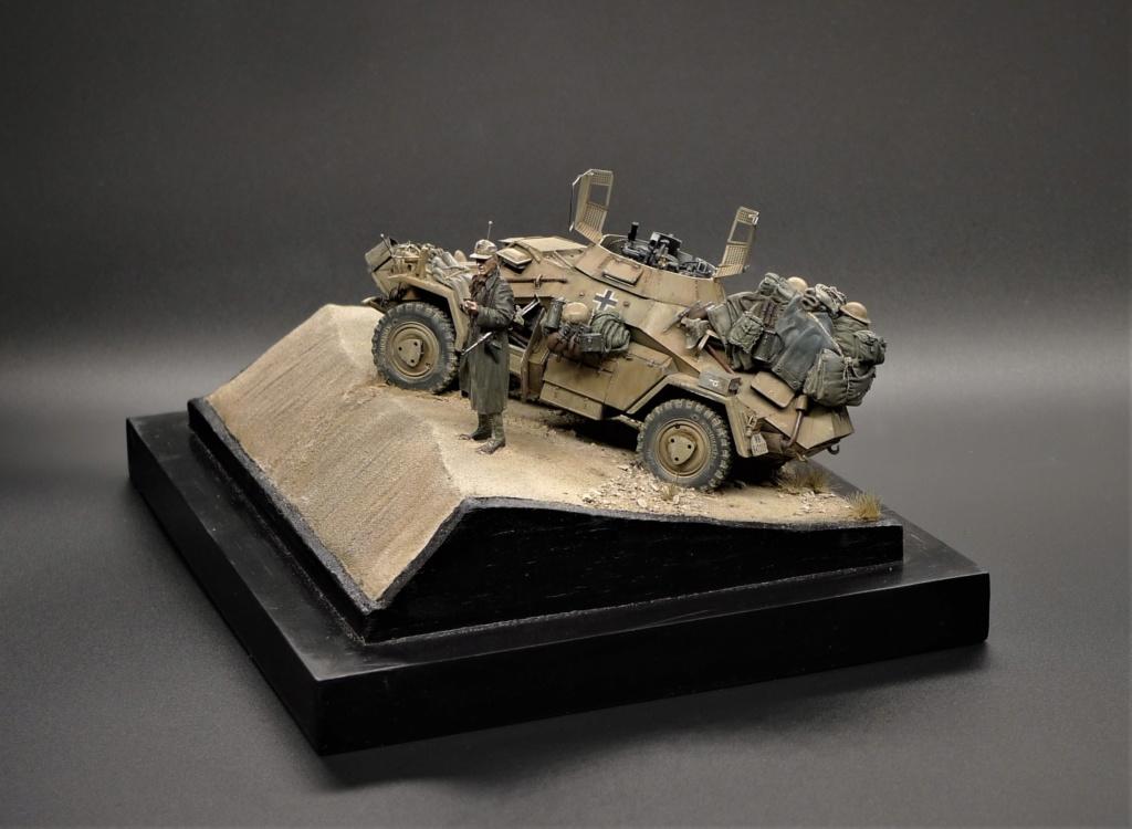 """""""Verloren """" AufklärungsAbteilung 3 – 5. leichte Division- DAK- Libye – juillet 1941 L1090957"""