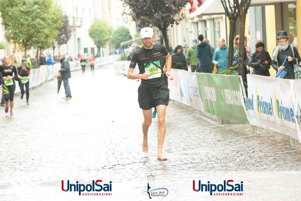 Mezza maratona Lodi scalzo Finale10