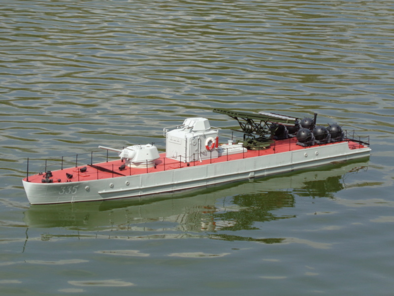 Russian gunboat Bk 1124 au 1/20e sur plan  - Page 10 Dsc01431