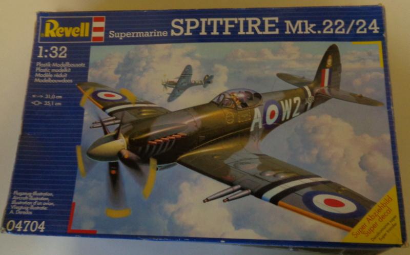 Spitfire Mk 22/24 - Revell 1/32e  Dsc03755