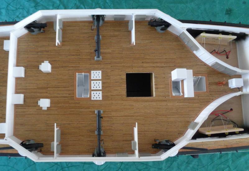 SMS Monarch cuirassé austro-hongrois (plan 1/65°) par TENEZE Alain - Page 6 Dsc04522
