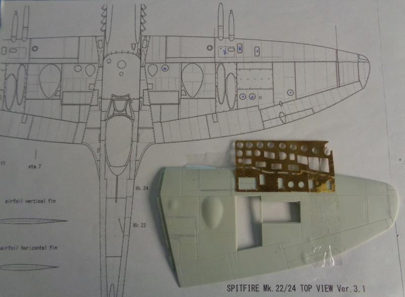 Spitfire Mk 22/24 - Revell 1/32e  Dsc04532