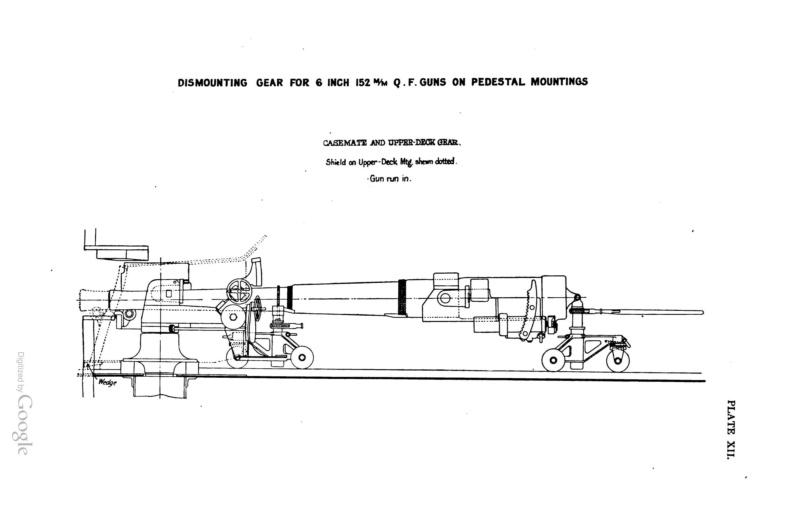 SMS Monarch cuirassé austro-hongrois (plan 1/65°) par TENEZE Alain - Page 6 Guns_110