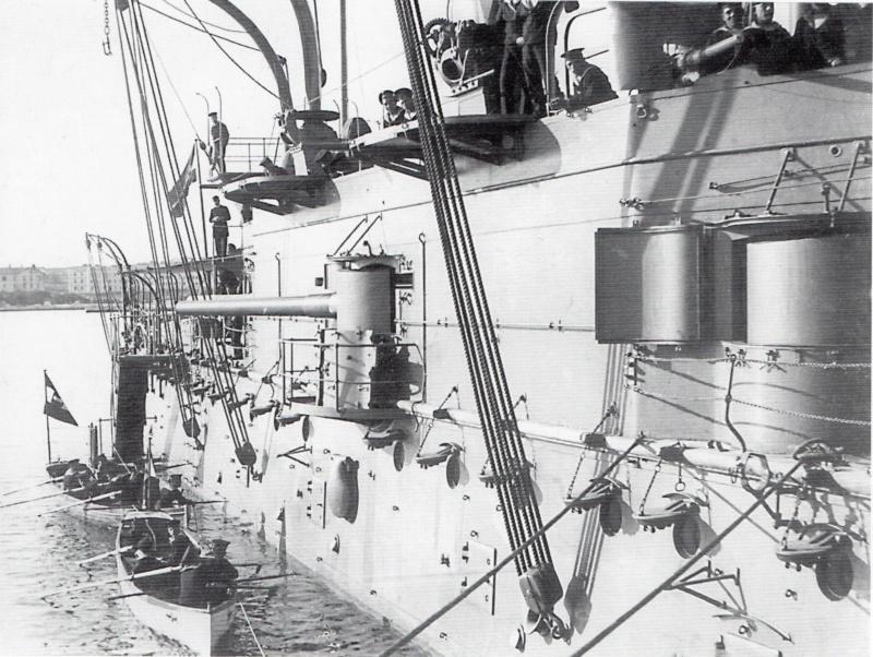 SMS Monarch cuirassé austro-hongrois au 1/65e sur plan - Page 5 Wien10