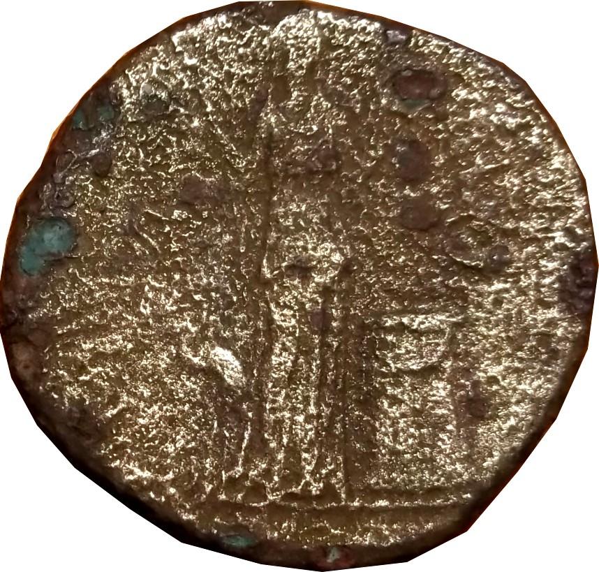 Identification Romaine ( Sesterce Hadrien  RIC (nouvelle édition) 2140 (R3)  ) 2chass12