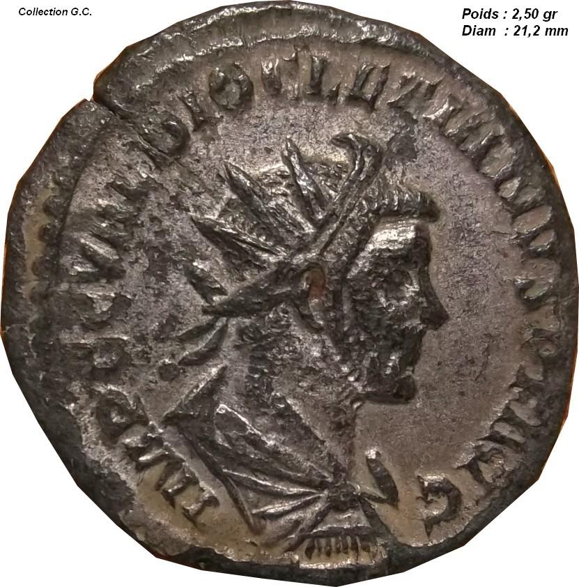 Identification Romaine ( Aurélianus de Dioclétien  Bastien  165 ) Aid10