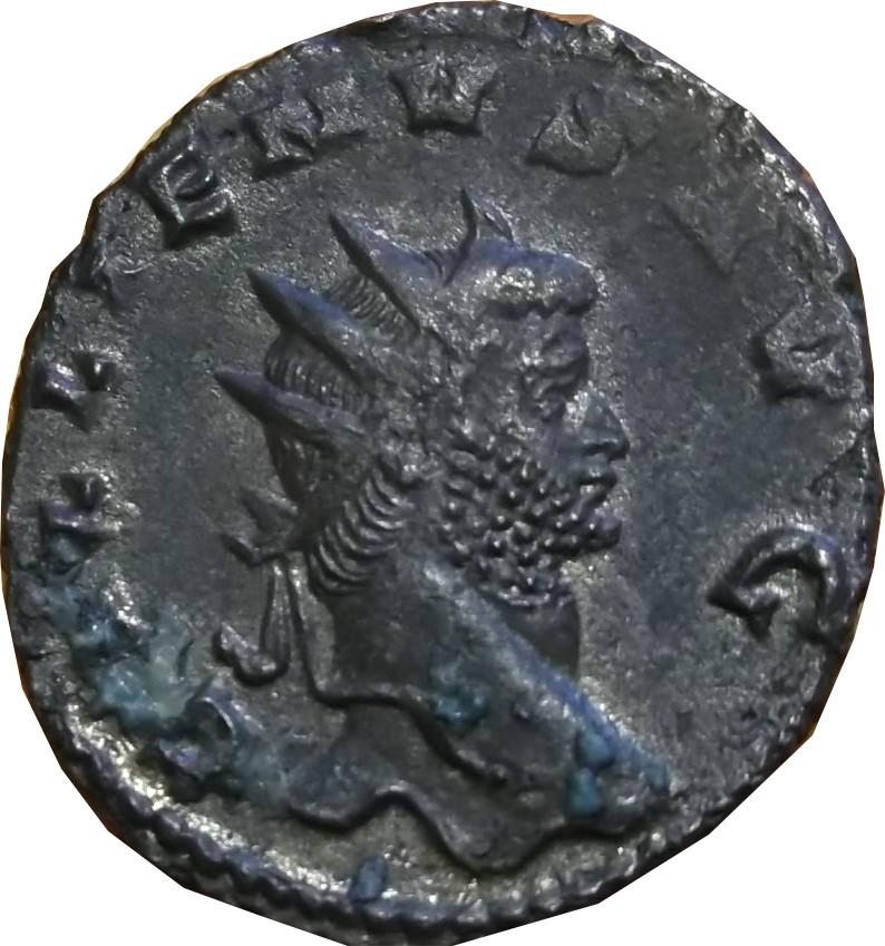 identifications monnaie de GALLIEN PA-X AVG/ T|-. RIC 256 Antoni27