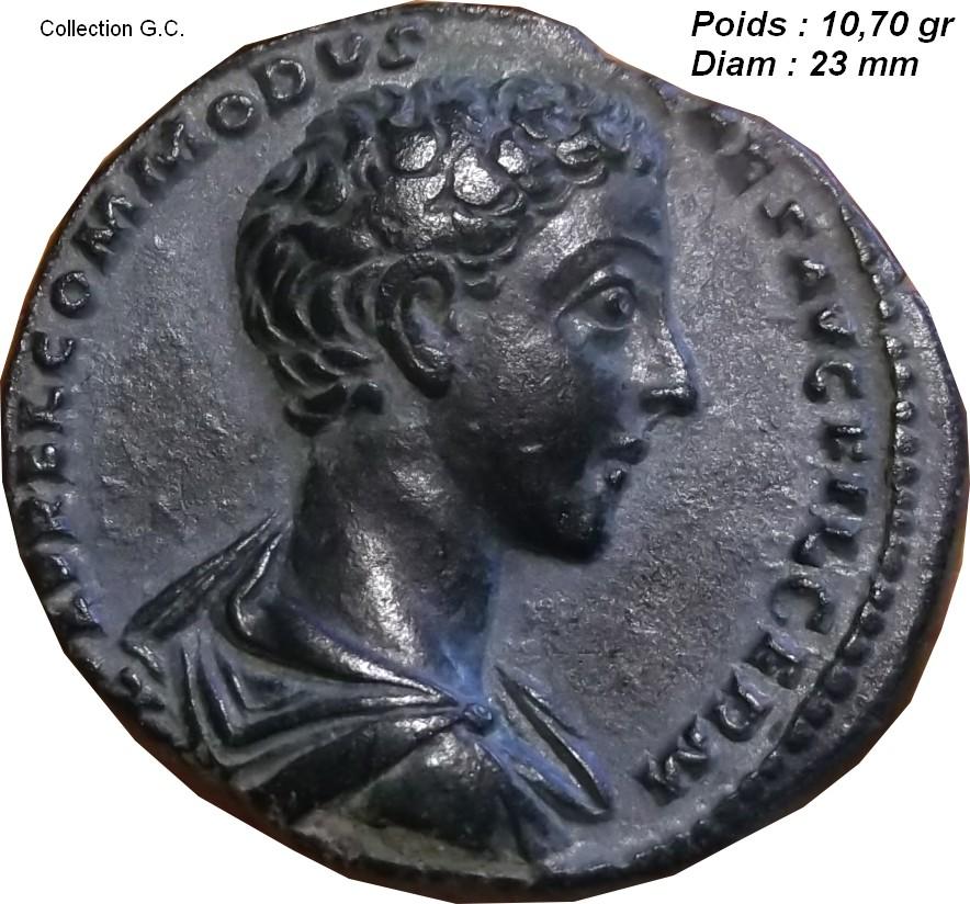 Identification Romaine  bronze POP ROMANUS ric 21  As_de_12
