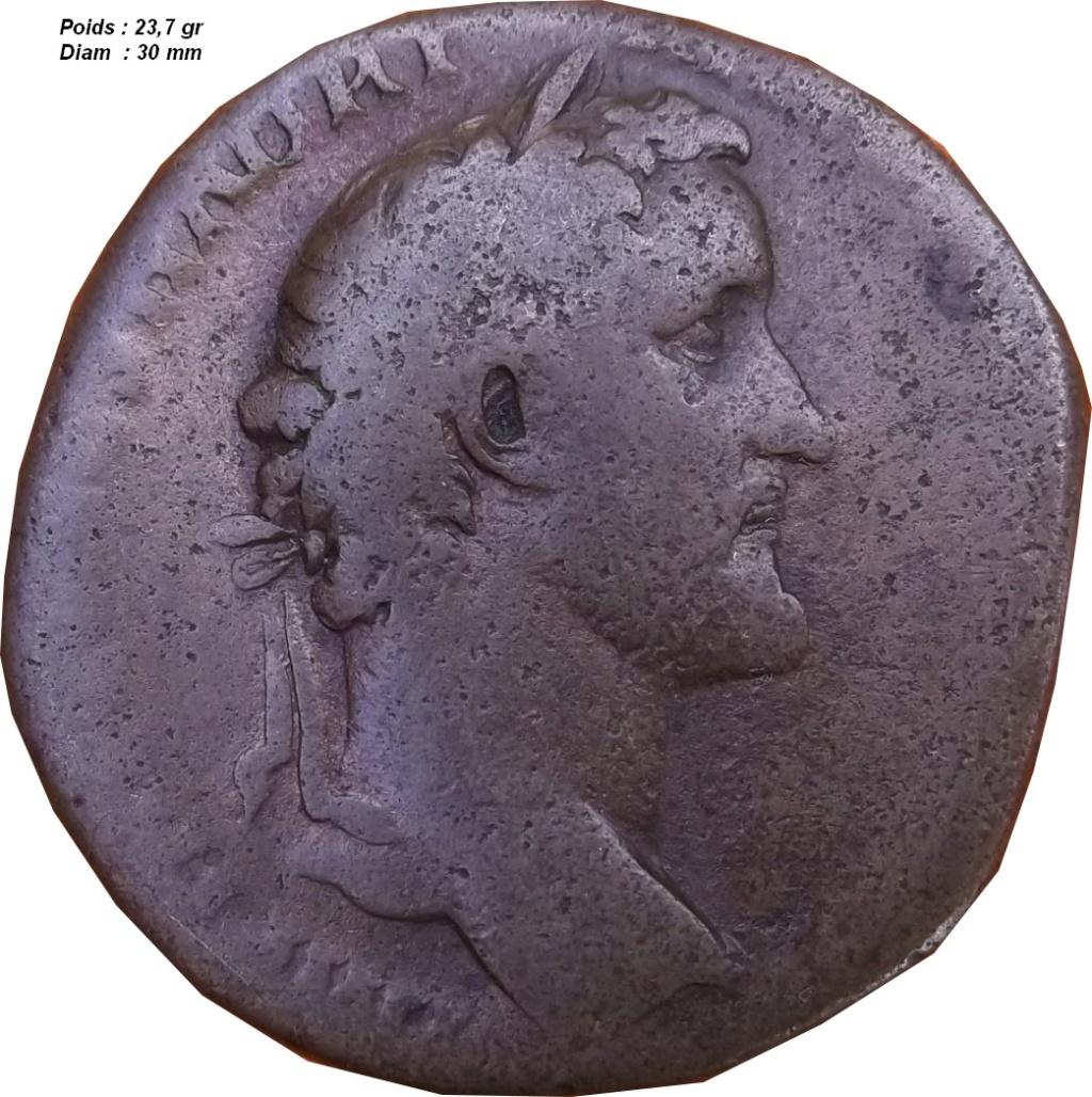 Identification Romaine ( sesterce Antonin le pieux ) B3_210