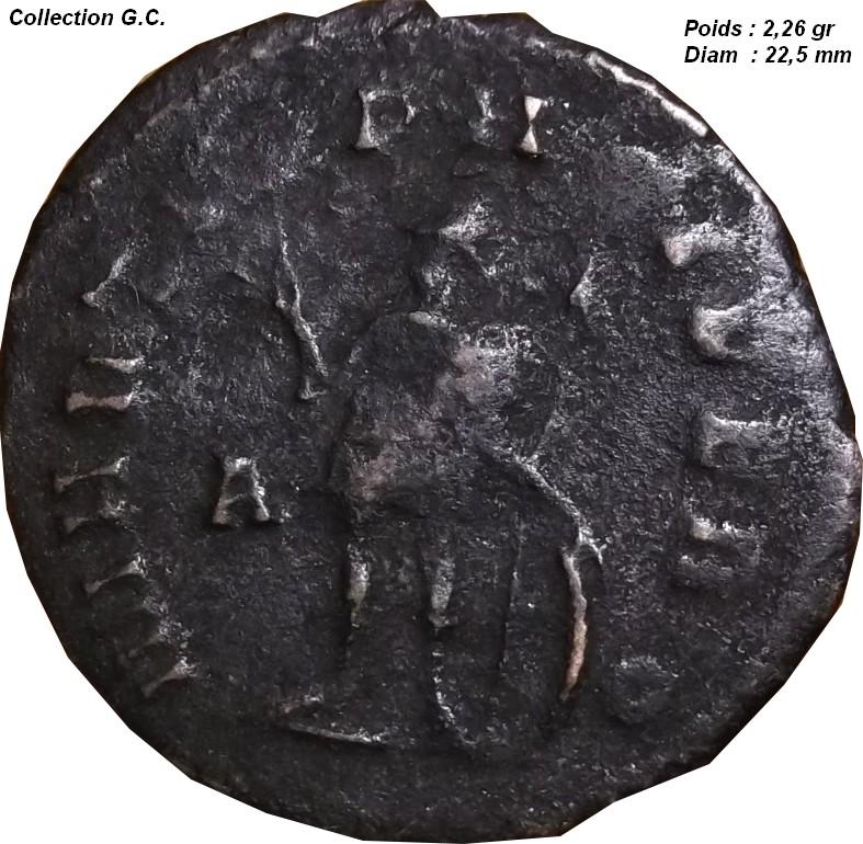 Identification Romaine ( antoninien de Gallien ) C4_210