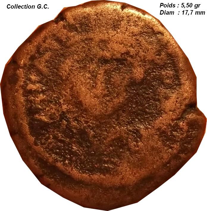 Identification Romaine ( Decanummium pour Maurice Tibère ) C610