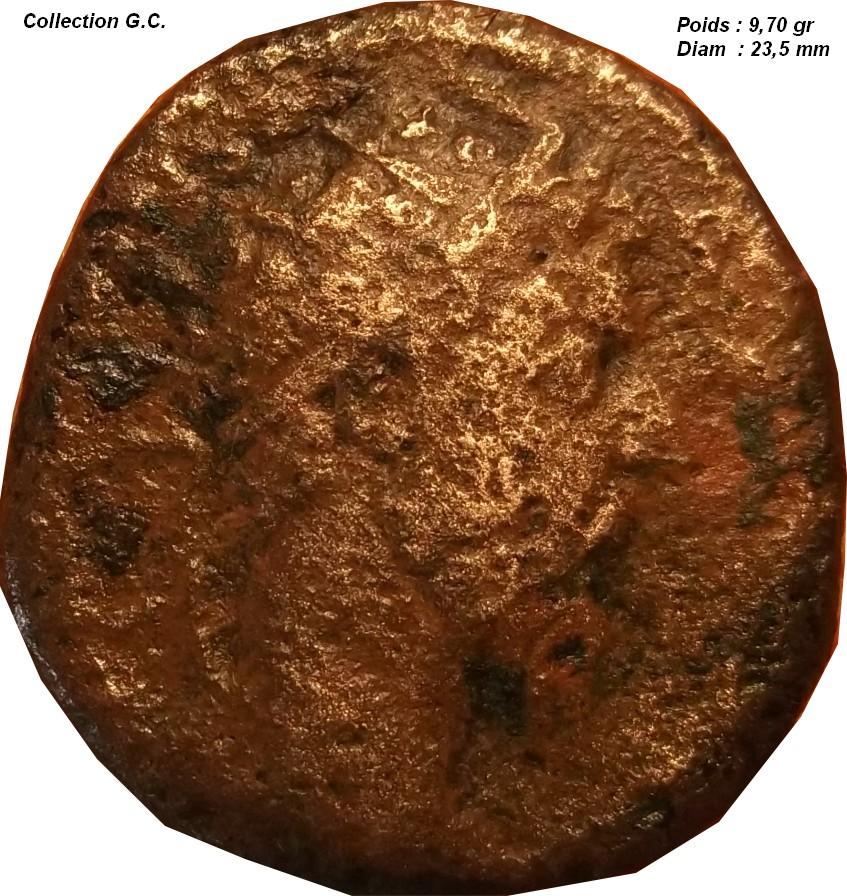 Identification Romaine ( dupondius pour Marc Aurèle ) H S C710