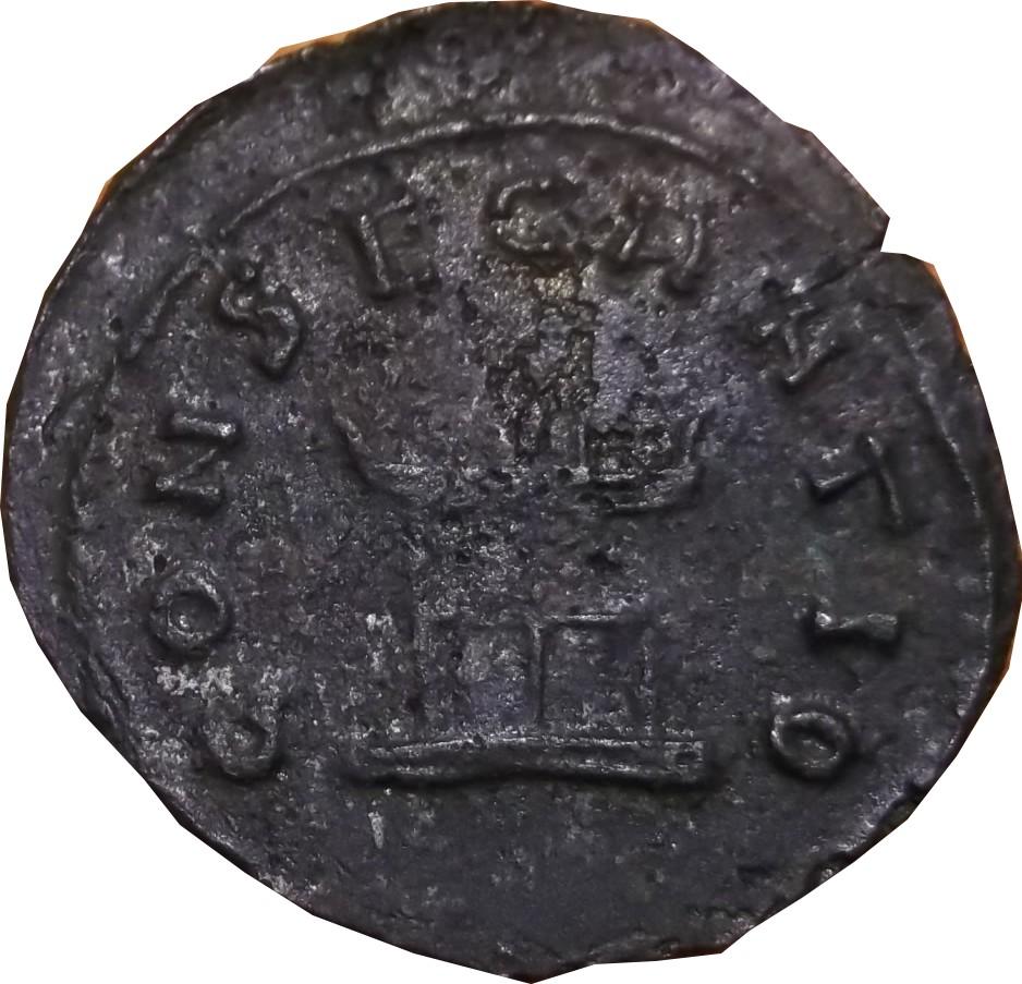Confirmation & identification Claude II REVERS CONSECRATIO . Claude17