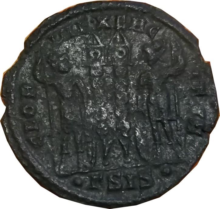 Confirmation Constance II ( Siscia Ric 237 Ric 237 R1 ) Consta16