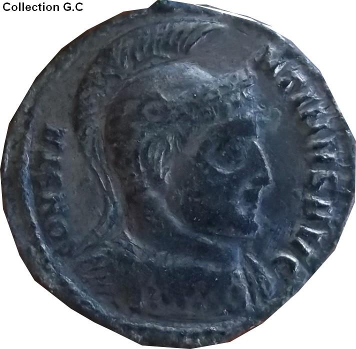 Confirmation identification Constantin 1er Ric 72  Consta26