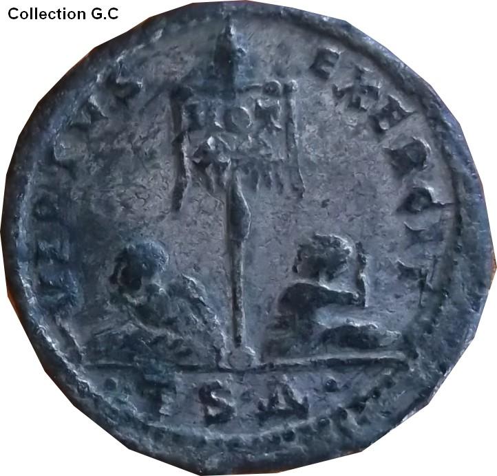 Confirmation identification Constantin 1er Ric 72  Consta27