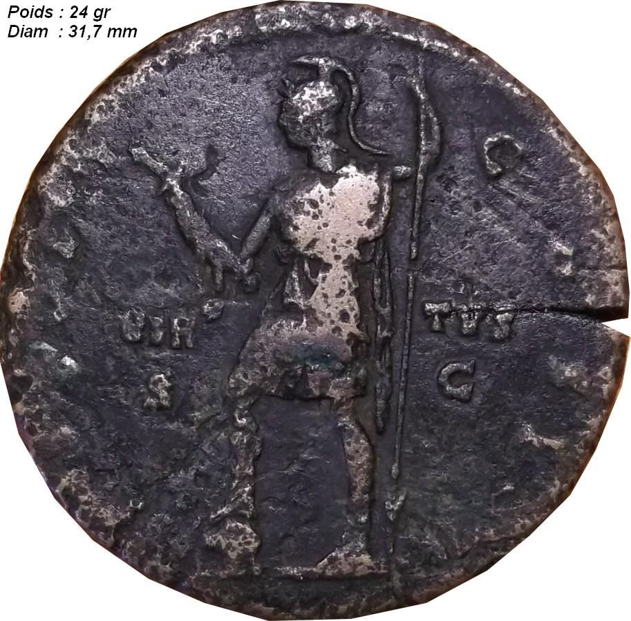 Identification Romaine ( MARC AURÈLE Sesterce ) G612