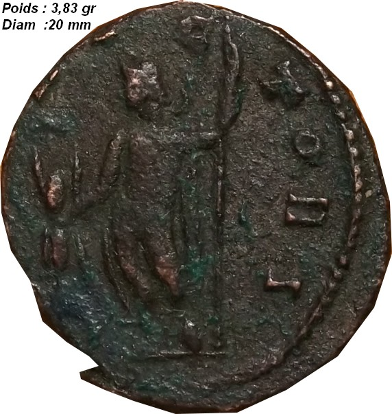 Identification Romaine ( Claude II le Gothique ) G_1110