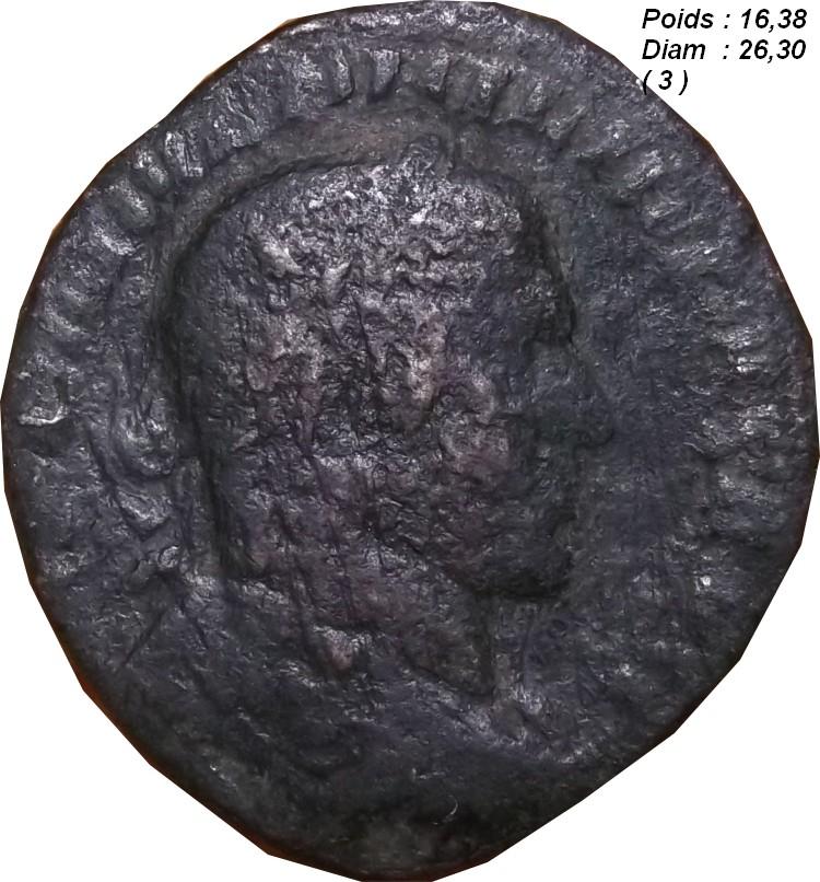 Identification Romaine (  PHILIPPE Ier L'ARABE Sesterce ) Ggg10