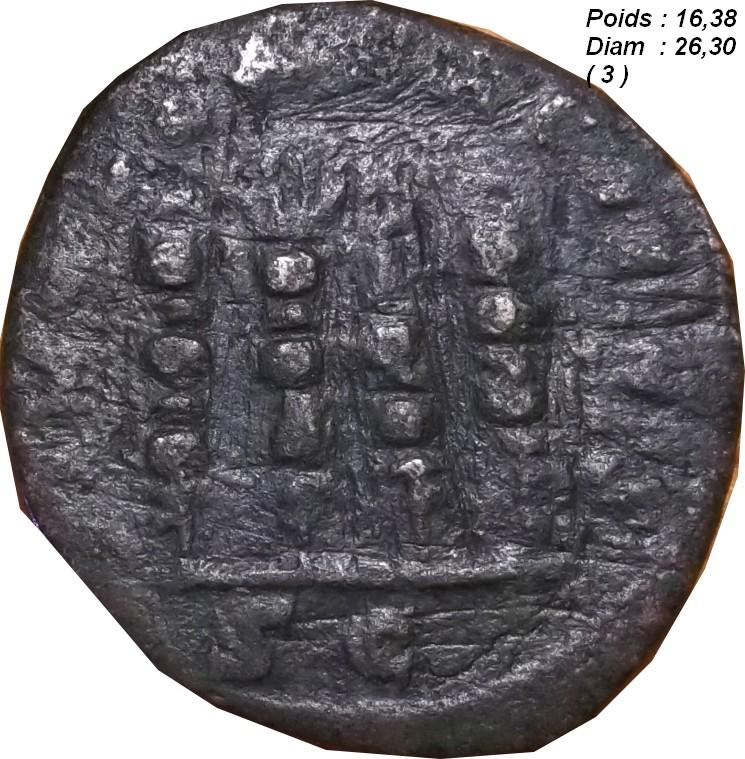 Identification Romaine (  PHILIPPE Ier L'ARABE Sesterce ) Ggg_210